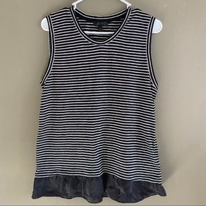 J. Crew Sleeveless Striped Top